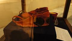 The amazing ancient Egyptian red shoes (Kodak Agfa) Tags: egypt egyptianmuseum museum history africa mideast ancientegypt cairo red leather shoe shoes cairomuseum museums ancienthistory متحف تاريخ المتحفالمصرى القاهرة مصر