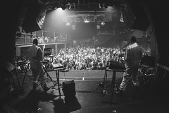 AUX88 (RG Video) Tags: party blackandwhite bw paris club dj live techno moulinrouge aux88 lamachine sonotown sntwn