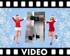 Merry TARSmas! [VIDEO] (Ochre Jelly) Tags: christmas xmas tree festive video holidays decoration tars interstellar