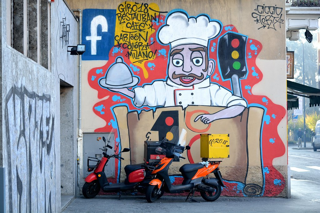 The world 39 s most recently posted photos of dergano and for Ristorante murales milano
