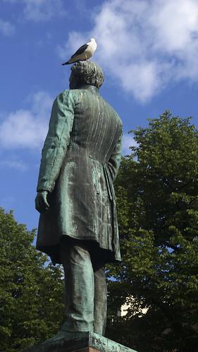 Helsinki - Estatua poeta Johan Ludvig Runeberg