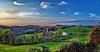 IMG_1985-86sPtzl1scTBbLGE (ultravivid imaging) Tags: ultravividimaging ultra vivid imaging ultravivid colorful canon canon5dmk2 clouds fields farm autumn autumncolors fall scenic rural vista sunsetclouds