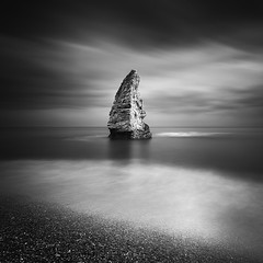 Sea Stack | Study II (Marcin Flis Photography) Tags: monovision mono bnw bw sea stack durdle door longexposure nd110 filters ndfilters bw110 canon 5d seastack