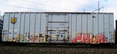 roll30 - chub (timetomakethepasta) Tags: chub freight train graffiti art boxcar canadian american railroad roll30