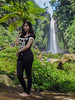 Pretty girl in Coban Talun waterfall (hastuwi) Tags: batu jawatimur indonesia idn eastjava wonorejo tulungrejo bumiaji paris68