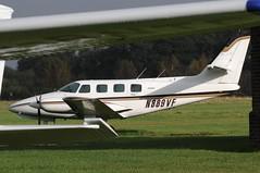 N889VF (LIAM J McMANUS - Manchester Airport Photostream) Tags: n889vf aircraftguarantycorp cessna t303 crusader c303 cessnacrusader cessna303 cessnat303 cityairportmanchester barton egcb