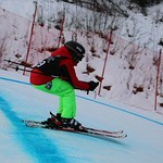 Tabor Western Ski Cross event Jan 2017 - riding tails