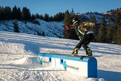 Leander fsblunt (Freeze the action) Tags: snowboarding freeze action freezetheaction janik steiner janiksteiner actionshot actionphotography grasgehren allgäu fsblunt bluntslide blunt sun mountains snow