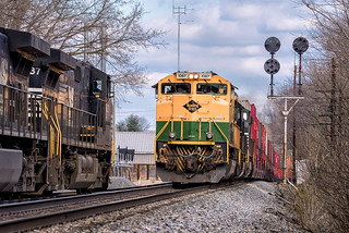 NS 1067 Train 228 Shepherdstown, WVa-