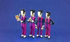 We are Number One but it's a photo and made of Lego (A Plastic Infinity) Tags: we number one lego meme net banana peel sportaflop robbie rotten whatareyoudoing saxophone flobbie