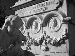 Marble Tomb at Santa Ifigenia Cemetery, Santiago de Cuba, Jan. 2014 (deemixx) Tags: cuba santiagedecuba santaifigeniacemetery cemetery graveyard tomb grave crypt finalrestingplace