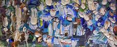 "#josephallenart feb-2017 12.5""x29.5"" #oiloncanvas #abstractpainting"