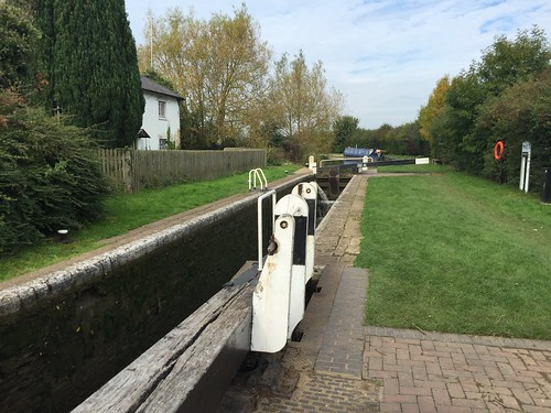 Nell Bridge Lock, Oxford Canal