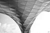 Triangles (nicéphor) Tags: canon eos50d lyon rhône musée confluences bw nb