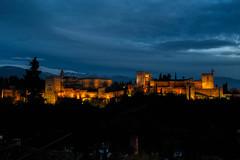 Crepusculo en la alhambra (alexsv92) Tags: granada alhambra atardecer nature landscape