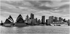 Sydney, Australia (CvK Photography) Tags: australia autumn bw canon city cityscape cvk fall holiday newsouthwales skyline sydney sydneyoperahouse