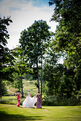 Bride and Bridesmaids (Morten Falch Sortland) Tags: getty photomortenfalchsortland stock stockphotography gettyimages allrightsreserved wedding ceremony love relationship everlasting whitebride party whitewedding peoplecountriesdömledömleherrgårdeventsforshagakarianneevenphotomortenfalchsortlandphotographerseasonssummerswedenthingstimevärmlandwedding