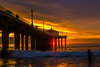 Somehow, I just can't put you In the past (mark the chopper) Tags: sunset beach ocean pier sea surf socal