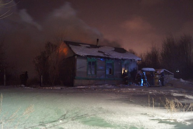 ВСызрани вгоревшем доме погибли престарелая женщина