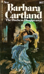 Novel-The-Duchess-Disappeared-by-Barbara-Cartland (Count_Strad) Tags: novel book pages read reading pulp barbaracartland romance