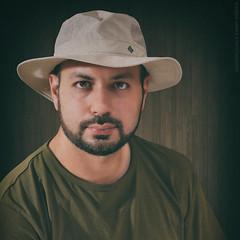 Waseem (Falcon EyE) Tags: portrait selfie selfportrait strobe speedlight flash stronglook vintage professional man male beard handsome model nikon jeddah ksa