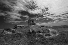 DSC00084 (Damir Govorcin Photography) Tags: customs tower la perouse rocks sky clouds zeiss 1635mm sony a7rii composition perspective creative wide angle sydney history architecture landscape