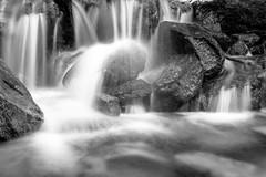 Flowing water (petia.balabanova(tnx for +2 million views)) Tags: blackandwhite monochrome bw flowing water waterfall tremorgio switzerland travel nikond800 2470mm