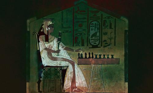 "Senet - Lujoso sistema de objetos lúdicos obsequio del dios Toht a la faraona Nefertari • <a style=""font-size:0.8em;"" href=""http://www.flickr.com/photos/30735181@N00/32399621421/"" target=""_blank"">View on Flickr</a>"