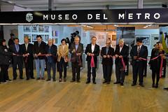 Corte del Liston Museo del Metro (tonypatriot2901) Tags: museo del metro de la ciudad méxico cdmx mexico city museum subway inauguración acto inaugural act subterrain