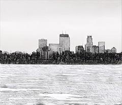 The Minneapolis skyline ..                      #skyline #minneapolis #architecture #lakecalhoun #photographyfun #filters #frozen #manylooks #ids #wellsfargobuilding #foshay #downtown #metropolitian (Ms.Wanderlust) Tags: skyline minneapolis architecture lakecalhoun photographyfun filters frozen manylooks ids wellsfargobuilding foshay downtown metropolitian