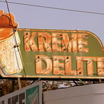 Kreme Delight neon sign - Athens, AL thumbnail