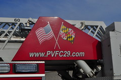 Providence Volunteer Fire Company Truck 297 (Triborough) Tags: md maryland baltimorecounty towson pvfc providencevolunteerfirecompany firetruck fireengine ladder truck ladder297 truck297 spartan gladiator rosenbauer viper