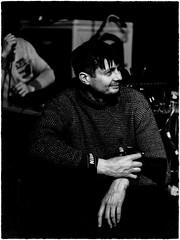 Jazz photographer (Visavis..) Tags: canoneos5d 100mm bw kyiv київ photographer portrait highcontrast solarisation jazz canonef100mmf2usm