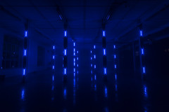 _MG_0566 (Playmodes Interactive Audiovisuals) Tags: playmodes studio light lightart led leds mira festival barcelona fabra coats 2016 colors installation openframeworks madmapper