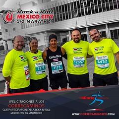 ¡Felicitaciones a nuestros compañeros Gustavo Alvarez, Andrés Pacheco, Cali Jimenez, Laura Vargas y Carlos Ortiz quienes ayer participaron en la Media Maratón Rock 'N' Roll Mexico City! Una nueva meta cumplida gracias al esfuerzo y al sacrificio que
