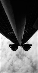 F_47A9606-BW-2-Canon 5DIII-Canon 16-35mm-May Lee 廖藹淳 (May-margy) Tags: maymargy bw 黑白 臉譜 眼鏡 街燈 大樓 雲彩 街拍 streetviewphotographytaiwan 線條造型與光影 linesformandlightandshadows 天馬行空鏡頭的異想世界 mylensandmyimagination 心象意象與影像 naturalcoincidencethrumylens 新北市 台灣 中華民國 taiwan repofchina f47a9606bw2 facesinplaces streetlamps buildingblocks clouds newtaipeicity canon5diii canon1635mm maylee廖藹淳 觀點