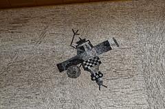 _DSC0027_cw (Wylf) Tags: soviet urss mozaika mosaic urbex cold war youri gagarine ussr hero urbexu history old