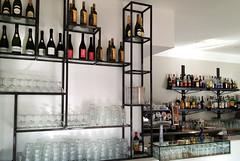 GERI_001 (fdpdesign) Tags: genova porto antico bar design portoantico shop shopdesign liguria italia arredo arredamento locali furniture ferro portabottiglie