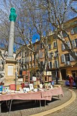 Aix en Provence (salvatore zizi) Tags: old en france ancient europe village au books libri april provence markt avril francia puches livres marche mache ville salvatore aix vieux provenza zizi 2015