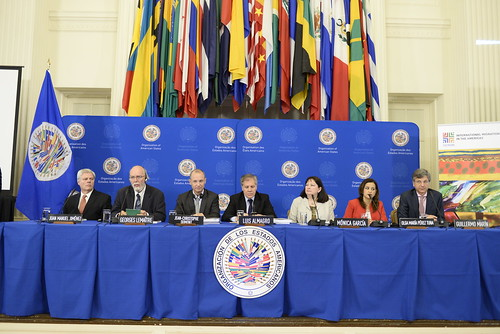 Secretary General Participates in Presentation of Report on Migration in the Americas
