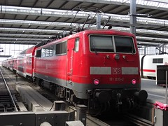 111 035 Munchen, 25/8/15 (Alister45) Tags: germany munich munchen lok db111