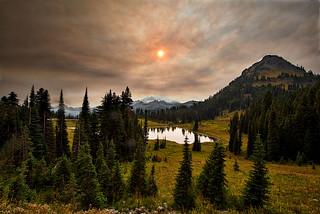 Lake Tipsoo Fire