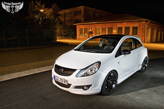 Opel Corsa (Wutzman) Tags: longexposure light wallpaper lightpainting car licht nacht tuning opel nachtaufnahme langzeitbelichtung opelcorsa automotivephotography carshooting wutzman lightscraper opeltuning wutzmanfotografie