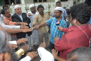 Muslim United Front Andhra Pradesh Peace Oath on Babri Masjid Judgement day 1