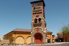 Tejon Outlets (Prayitno / Thank you for (12 millions +) view) Tags: california ranch ca blue sky tower shop shopping outdoor sunny el stores outlet outlets tejon konomark