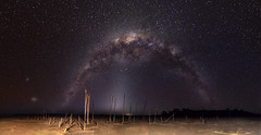 Milky Way & Zodiacal Light over Lake Dumbleyung (inefekt69) Tags: longexposure nightphotography portrait sky panorama cloud lake water night clouds rural way stars ancient nikon outdoor space small great salt large australia tokina explore southern galaxy astrophotography perth astronomy dslr milky 11mm stitched cosmos westernaustralia core cosmology milkyway zodiacallight southernhemisphere rift magellanic ptgui zodiacal dumbleyung explored magellaniccloud 1116mm lakedumbleyung d5100