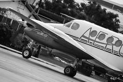 Beechcraft 200 (N711TN) - FDF (Sylvain C-G ) Tags: white black plane airplane general aviation 200 beechcraft beech zag fdf avgeek tfff n711tn