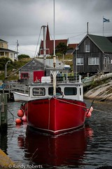 Habour Mist (57rroberts) Tags: ocean blue sea canada water outdoors fishing novascotia cove peggyscove