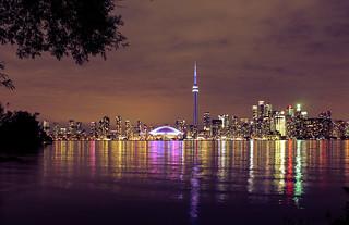 Toronto Skyline from Hanlan's Point - Explored