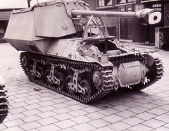 """The 7.5 cm Pak 40 L/48 auf Gw 39H (f) — 75-mm anti-tank gun on tank chassis """" Hotchkiss """", production for the German troops begun in 1942, just released 60 EA."""